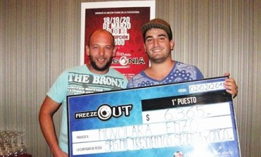 Enzo Nuvolara se quedó con el Freezeout 400 de Casino Magic