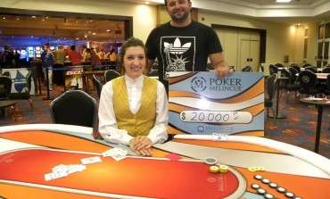 Gustavo Cerantola ganó el The Bubble Poker Place de Casino Melincué