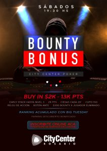 CITY BOUNTY BONUS @ City Center Rosario | Rosario | Santa Fe | Argentina
